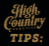 high-country-tips